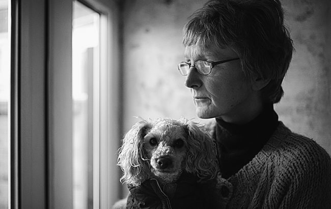 Karen Hayood, flooding victim, Boston, Lincolnshire