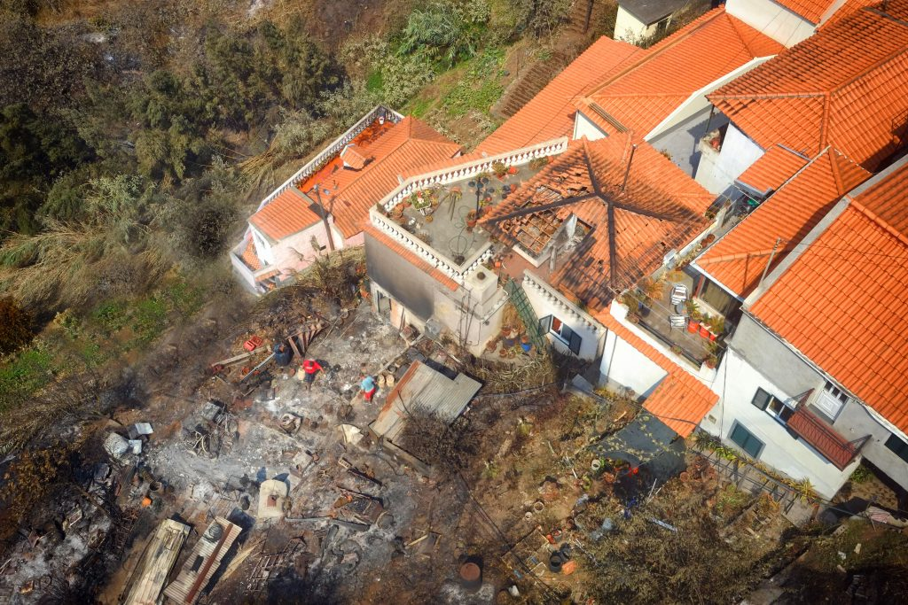 Damage in Madeira