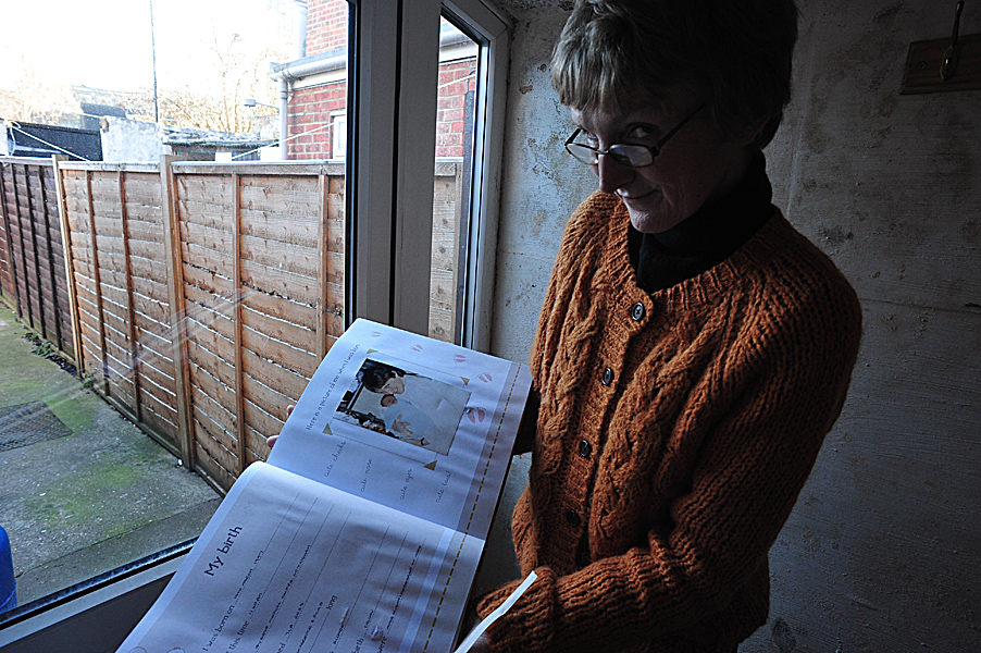 Karen Hayood, flooding victim, Boston, Lincolnshire