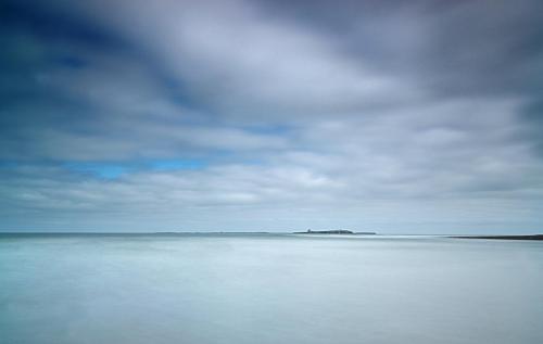 North Sea at Bamburgh