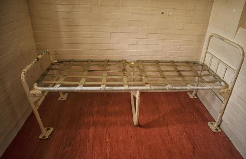 Reggie Kray Cell bed