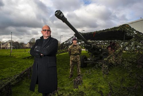 James Whale at Colchester garrison