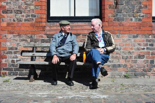 Two men, Liverpool