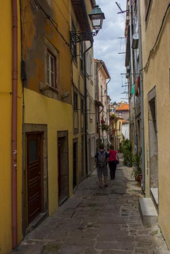 Street detail, Porto