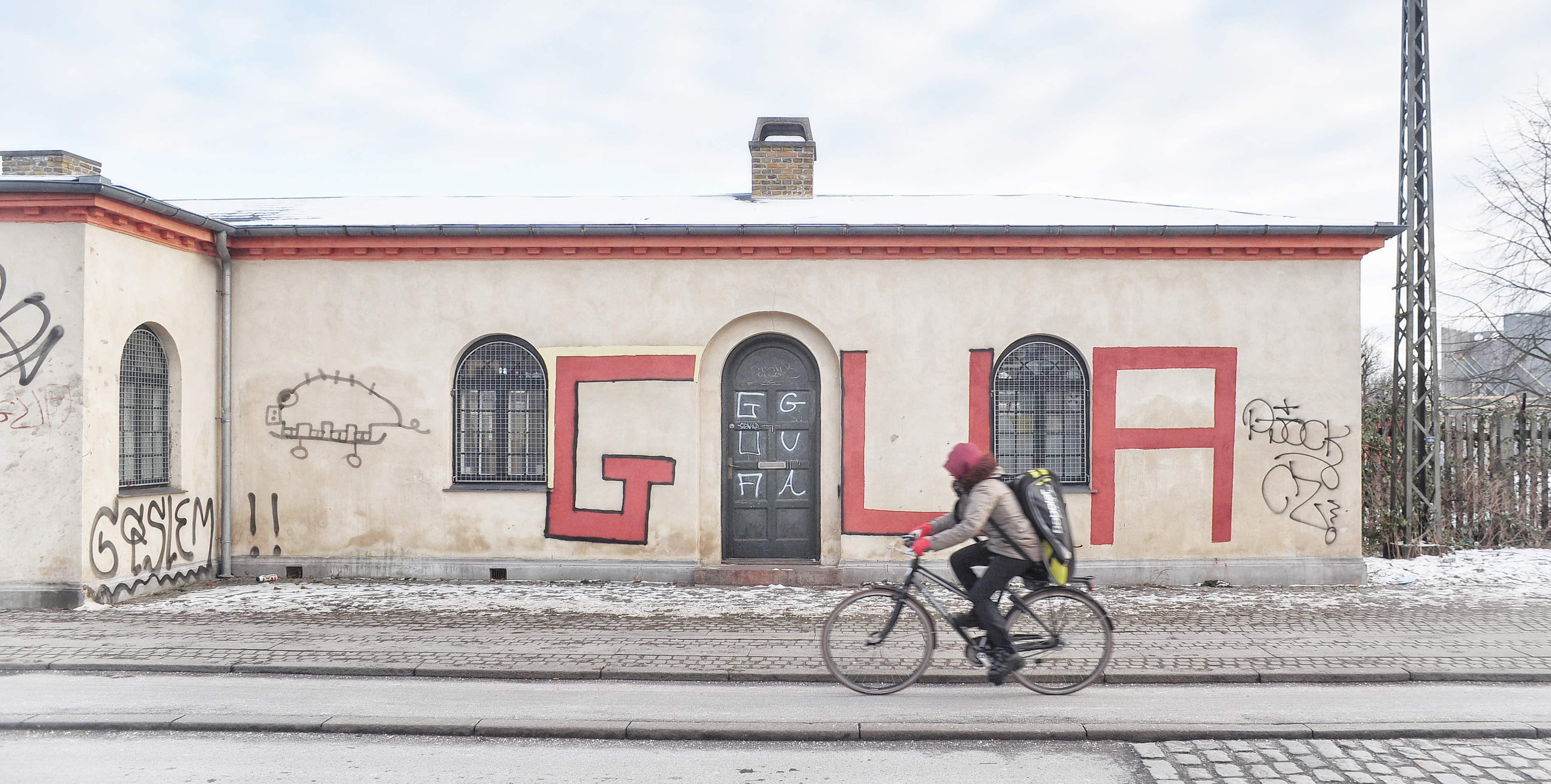 A rider near Christiania