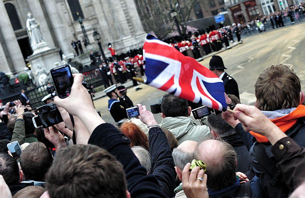 Flag waved