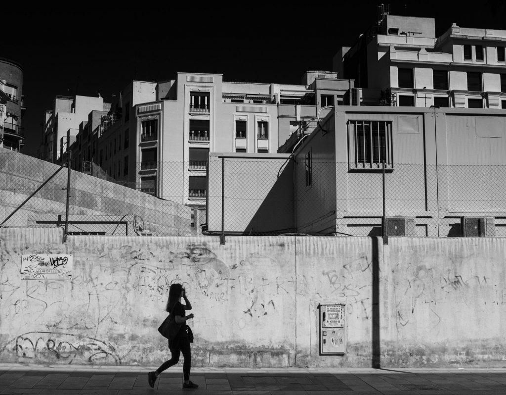 Woman, Madrid